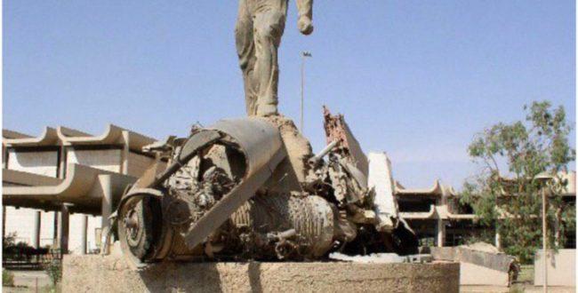 ساخت تندیس کسی که F 14 ایرانی