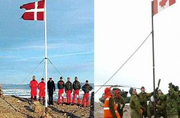 جنگ ویسکی در کانادا و دانمارک