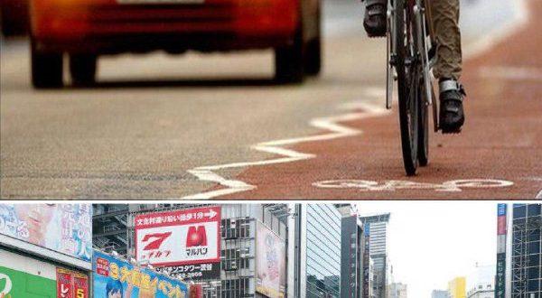 در ژاپن با دوچرخه زودتر به مقصد می رسید