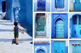 آبی ترین روستای دنیا