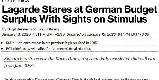 دولت آلمان سیزده میلیارد و پونصد میلیون یورو بودجه اضافی آورده