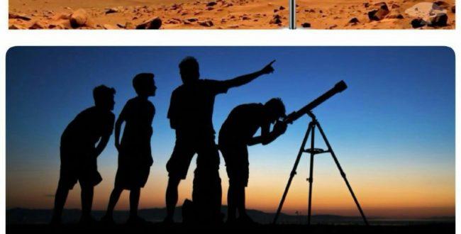 اگر یک آینه روی یک سیاره در فاصله ۱۵ سال نوری از زمین قرار گرفته باشد…