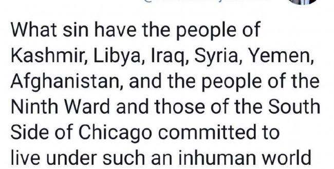 محمود احمدی نژاد نگران منطقه ۹ شیکاگو