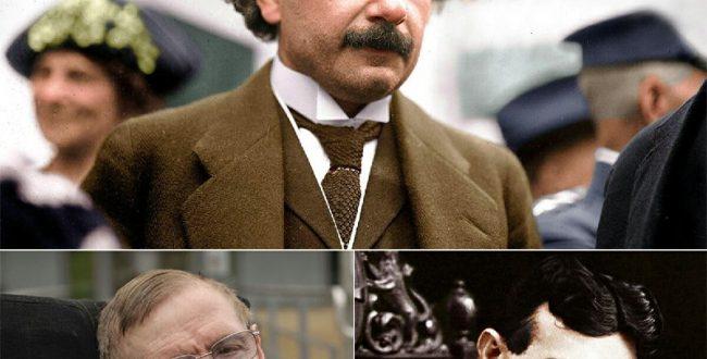 آلبرت اینشتین به خاطر تئوری ن