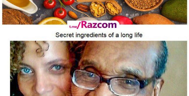 ۱۱۴ سال زندگی به خاطر ۵ تا ماده غذایی