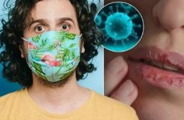 تغییرات عجیب لبها بر اثر ابتلا به ویروس کرونا