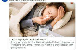 سرماخوردگی دشمن کووید ۱۹ است؟