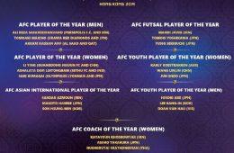 مراسم بهترینهای سال آسیا از ۱