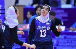 تیم ملی والیبال زنان ایران در