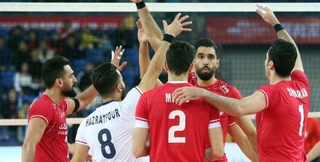 رقبای والیبال ایران در المپیک۲۰۲۰ مشخص شدند