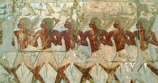 مبادله در مصر باستان