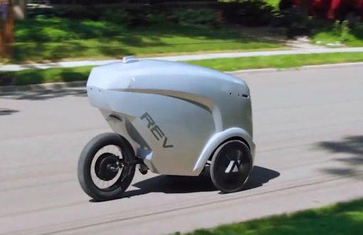 بستههای خود را با دوچرخه هوش مصنوعی تحویل بگیرید